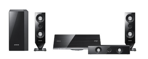 Samsung HT-C7300 cine en casa - Equipo de Home Cinema (Blu-Ray, CD-R, CD-RW, DVD, 530W, 3.1, MP3, WMA, Pasivo) Negro