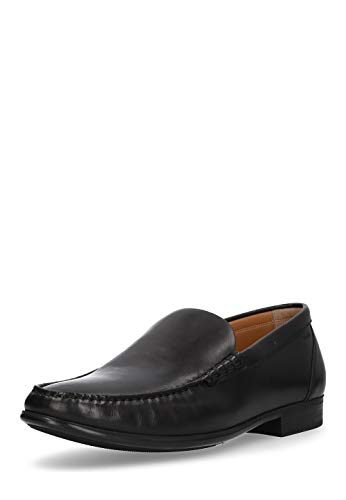 BALLY Herren Herren Slipper Schuhe Mokassins echt Leder Halb Loafer bequem -