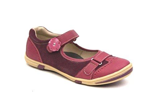 C iao Ciao Echtleder Ballerinas Sneaker Spangenschuhe Schuhe Halbschuhe Neu (34 EU, Rot (Rosewine))