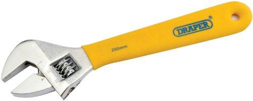 Draper DIY Series 5771 Clé à molette 200 mm-Soft Grip