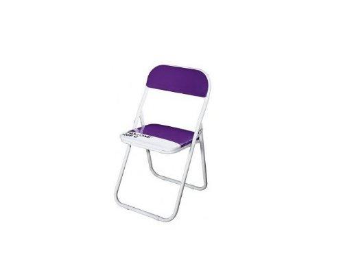 Sedia Pantone Rosa : Baby sedia metallo pieghevole pantone® 268 cm.33 h.31 56 viola