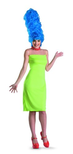 The Simpsons Marge Adult Deluxe Costume (Small)