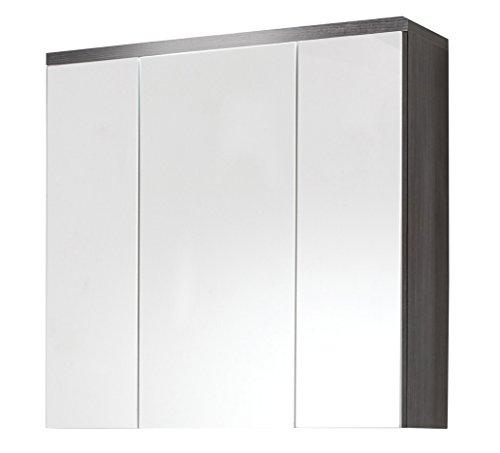 Spiegelschrank Bad Holz von trendteam 75 cm