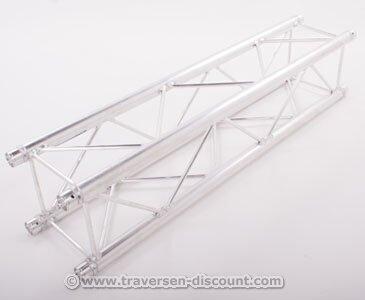 Alu System Trussing AST, Traverse 4 Punkt, Deco Truss T220-4, Länge 150cm - Alu Traversen Aluminium Truss Alu System Trussing AST Traverse