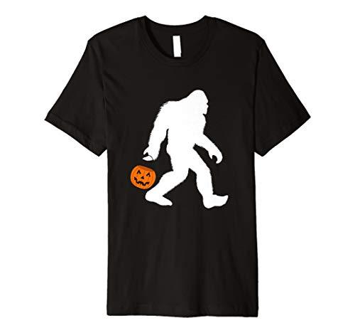 Bigfoot Halloween-Kostüm Shirt Funny für Damen Herren Mädchen -