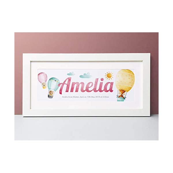 Little Friends Name Print. Buy today and get a FREE Frame Upgrade 31LXoy37WYL
