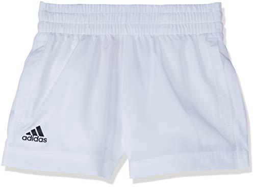 adidas Jungen Club Shorts 1/4, White, 116