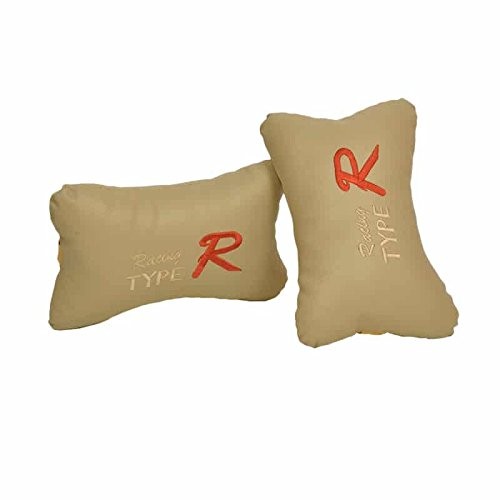 Type R beige Neck Cushion / Neck Pillow / Car Cushion For honda amaze  available at amazon for Rs.100