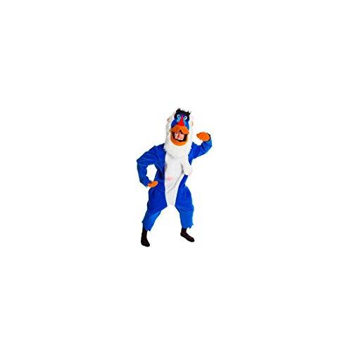 iges Pavian Kostüm für Erwachsene Bunt Einheitsgröße (Pavian Kostüme)