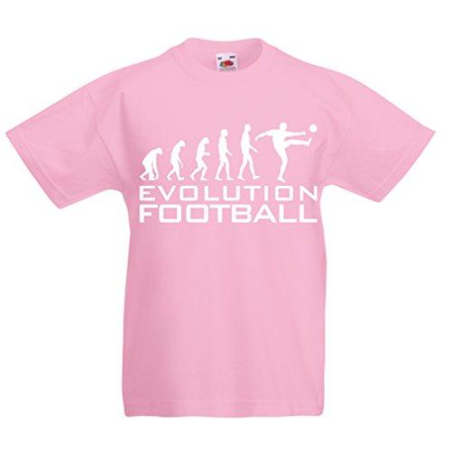 lepni.me Camiseta Niños Niñas La Evolución del Fútbol - Copa del Mundo de 1e79b1e167707