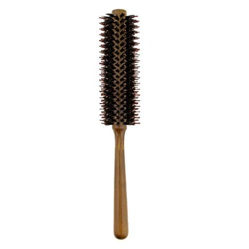 Baoblaze Brosse à Cheveux Ronde Antistatique Durable pour Brushing et Lissage - 26cm - S