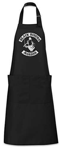 Urban Backwoods Black Riders MC Delantal De La Cocina