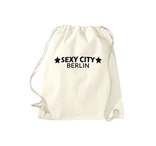 Turnbeutel Sexy City Berlin Dein Stadtbeutel Gymsack Kultsack Natur