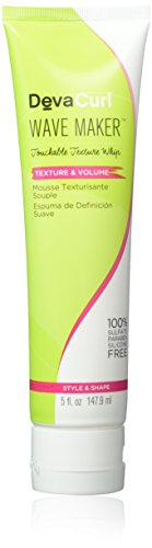 DevaCurl Wave Maker (Touchable Texture Whip - Texture & Volume) 147.9ml (Boost Root Volume)