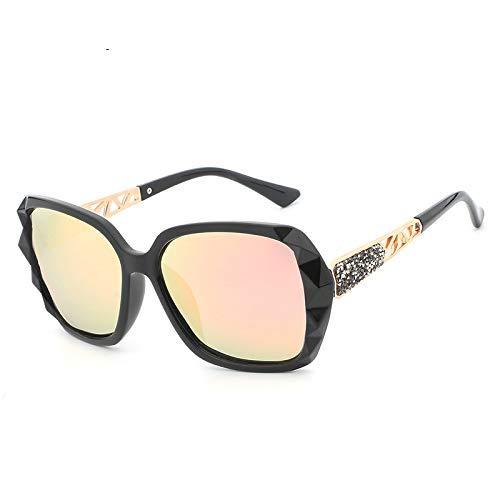 Zustrom von Menschen Brille Damen Big Box Sonnenbrillen polarisierten Anti-UV-Sonnenbrillen