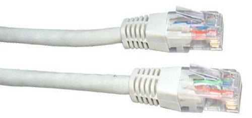 100 Ethernet Broadband Router (Weiß Cable Network-Hohe Qualität Gigabit Blei/Cat5e (verbessert)/RJ45/Ethernet/patch/lan/Router/Modem/10/100)