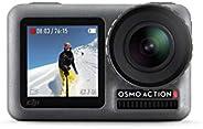 DJI Osmo Action Cam, Camera Digitale con Doppio Display, Fino a 11 m, Resistente all'Acqua, Foto e Video i