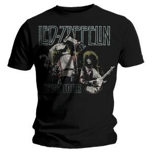 Plant & Page 75 (M/Ts/Blac (T-shirts Rock Led Zeppelin)