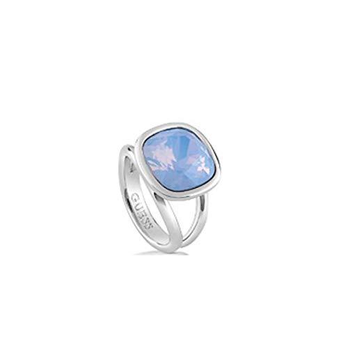 Guess Damen-Ring Crystal Shades Kristall blau Gr. 54 (17.2)-UBR61019-54