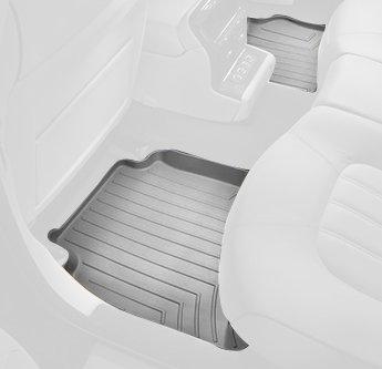 WeatherTech Custom Fit Rear FloorLiner for Honda Odyssey, Grey