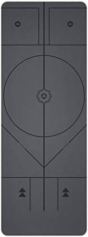 Yoga Mat Eenvoudige Thuis afdrukken Handig Slijtvast Training Fitness Breed Antislip Beroep Oefening Mat Beginner Unisex 183