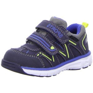 Pep Step  1631201/00822, Mocassins pour garçon 00822Navy-Royal-Yellow