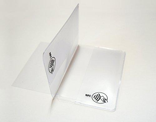 SECVEL – CF+ Einleger für SECVEL Kartenschutztasche (für 2 zusätzliche Karten)