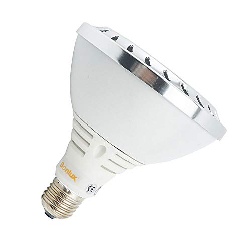 Bonlux PAR38 E27 LED Lampe 20W 220V Kaltweiß 5000K 25 Grad Cree COB LED PAR38 Flutlicht wie 150W - Led Flut-im Cree Freien