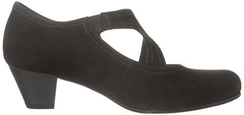 Gabor Shoes Comfort Basic, Scarpe con Tacco Donna Nero (schwarz 47)