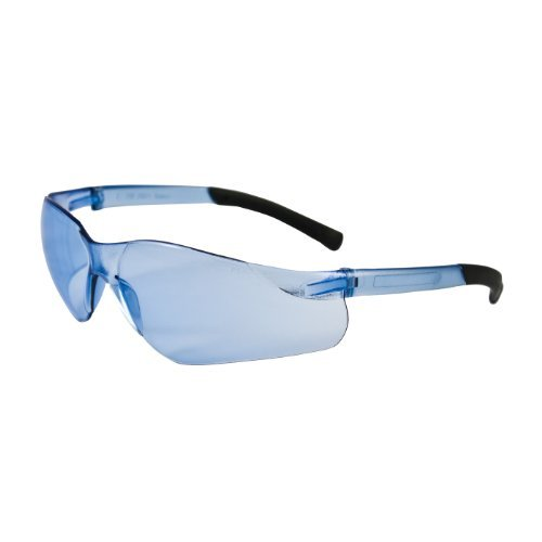 zenon-z13-250-06-5503-rimless-safety-glasses-with-light-blue-temple-light-blue-lens-and-anti-scratch