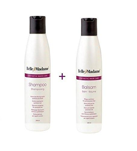 Bella Shampoo (Perücken Pflegeset Shampoo 200 ml + Balsam 200 ml Dening Hair Belle Madame)