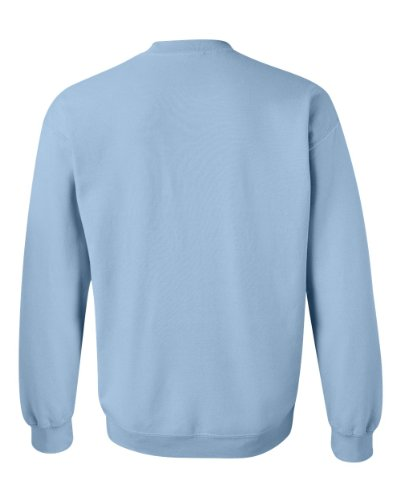 Maglietta Heavy misto 50/50 sudore-Shirt Noir - Bleu clair