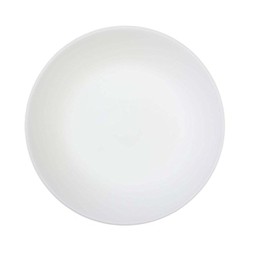 Corelle Lunch Teller Winter Frost White aus Vitrelle-Glas 22 cm, 6er-Set - White Dinner Plate