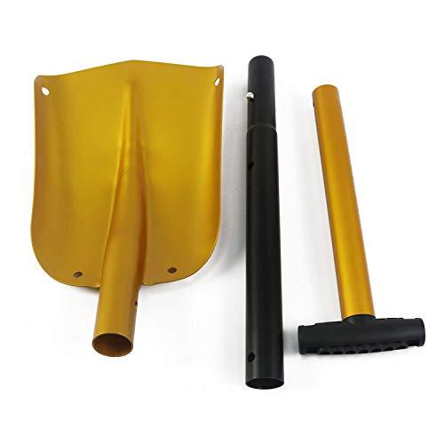 HXZDP Shovel Survival Shovel Shovel con Vela Pieghevole All'aperto Shovel Survival Camp Spade Tool Snow Shovel