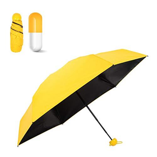 Paraguas plegable, a prueba de viento, impermeable y duradero.  Ligero y portátil, fácil de viajar.  Este paraguas es seguro para llevar a cualquier lugar, en cualquier momento.  ¡Este paraguas es el regalo perfecto para tu familia, amigos y colegas!...