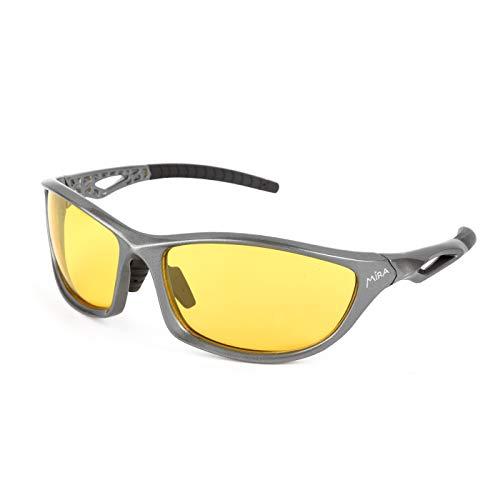 Mira - Fusion Y - Polarisierte Sportbrille - UV400 Sonnenbrille - Unisex für Damen und Herren - Robust, langlebig, leicht und kratzfest