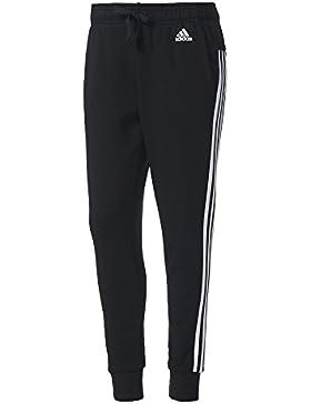 adidas S97117 Jogginghose für Damen, Schwarz / Weiß