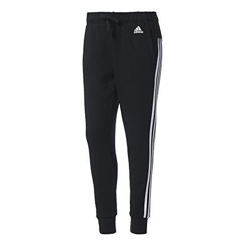 adidas S97117 Pantalón de Chándal, Mujer, Negro / Blanco, XS/L