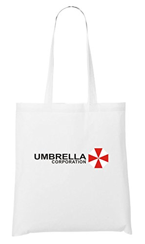 (Umbrella Corporation Stofftasche White Certified Freak)