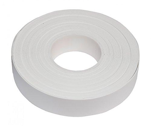 Yachting Tape selbstverschweißendes Klebeband schwarz oder weiß 10m x 19mm, Farbe:weiß