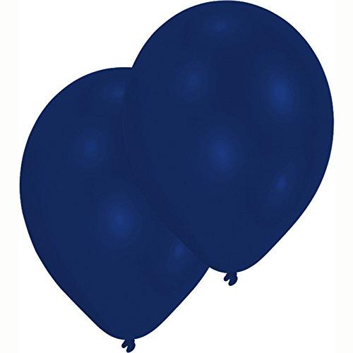 PARTY DISCOUNT NEU Luftballon Premium Royal Blau, 50 Stk.