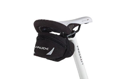 VAUDE Satteltasche Tube Bag, Black, M (14x8,5x6,5cm)