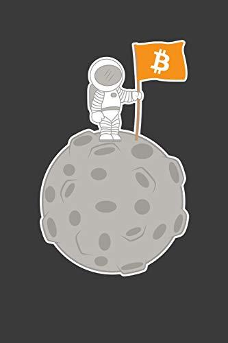 Astronaut Alien Kostüm - Bitcoin Astronaut: Liniertes DinA 5 Notizbuch für Astronomie, Astronauten und Weltall Space Fans Notizheft