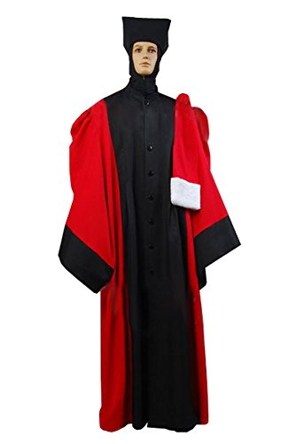 Star Trek TNG The Next Generation Q judge Robe Cosplay Kostüm Herren XXXL