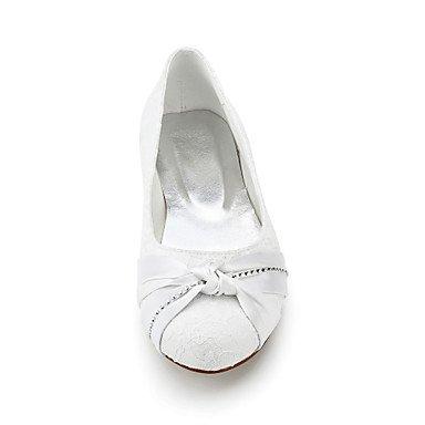 Confortevole ed elegante piatto scarpe donna Appartamenti Primavera / Estate / Autunno / Inverno nozze di seta / Party & Sera / White