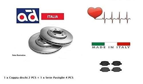 Xenergy Dischi + Pattini Pastiglie Freno Posteriori 147 156
