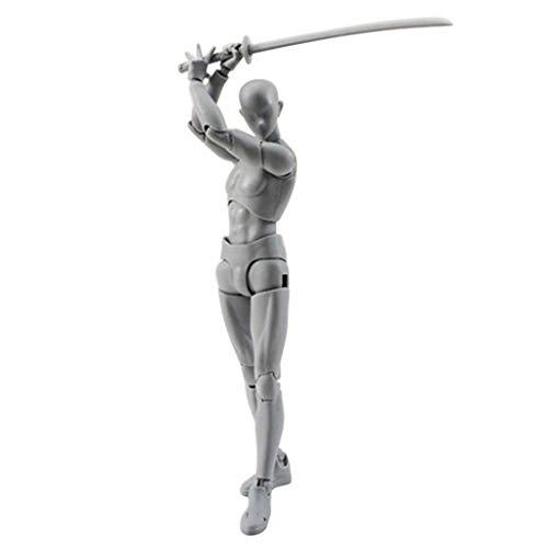 TianranRT Figuren Für Künstler Aktion Figur Modell Mensch Schaufensterpuppe Mann Frau Kits (F)
