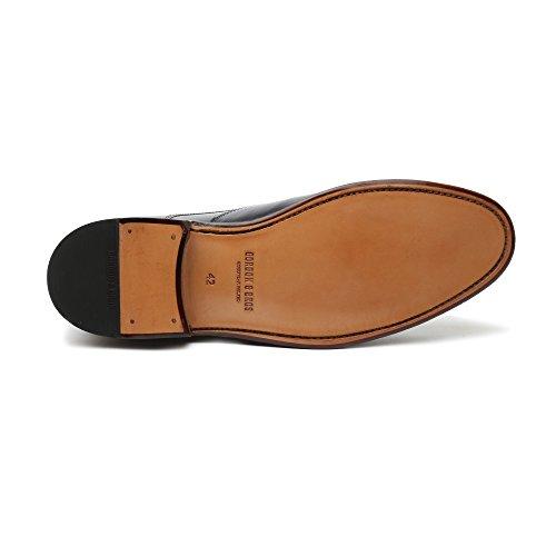 Gordon & Bros Levet 5090-C Herrenschuhe Herren Businessschuhe, Schnürhalbschuhe, Anzugsschuhe, Derby Schuhe, Goodyear alameda blue