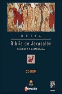 Cd rom de la biblia de jerusalén por Escuela Bíblica De Jerusalén