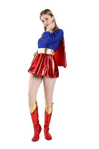 Weihnachts-Erwachsenen Kostüm, Superman-Kostüm, Superhelden-Kostüm, Geeignet Für Helloween Kostümparty, Geburtstagsfeier Und Verschiedene Partys, ()